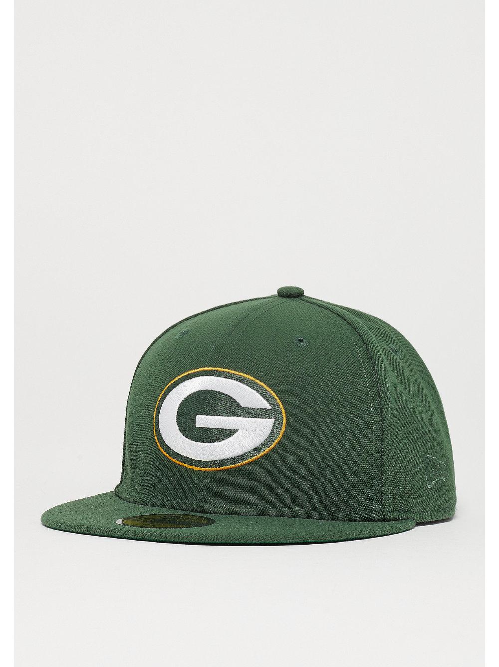 c616a6d7e001b Gorra New Era 59Fifty NFL Green Bay Packers Classic en SNIPES
