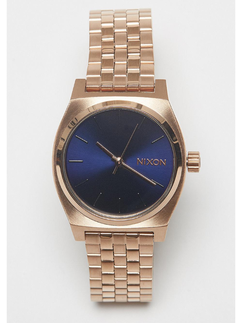 ¡Hazte con el reloj Medium Time Teller color rosa de Nixon en SNIPES! 08cd3ed9c706