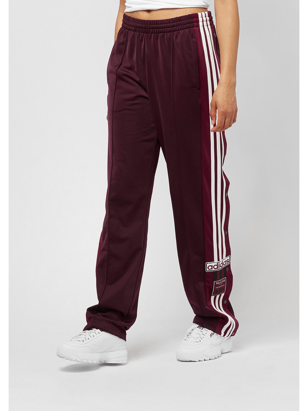 pick up 19cee a3f13 Ordina Pantaloni sportivi adidas Adibreak maroon su SNIPES