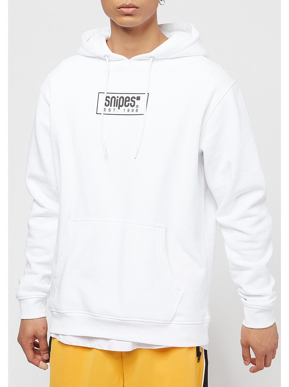 snipes small box logo ngtv hoodie white bei snipes. Black Bedroom Furniture Sets. Home Design Ideas