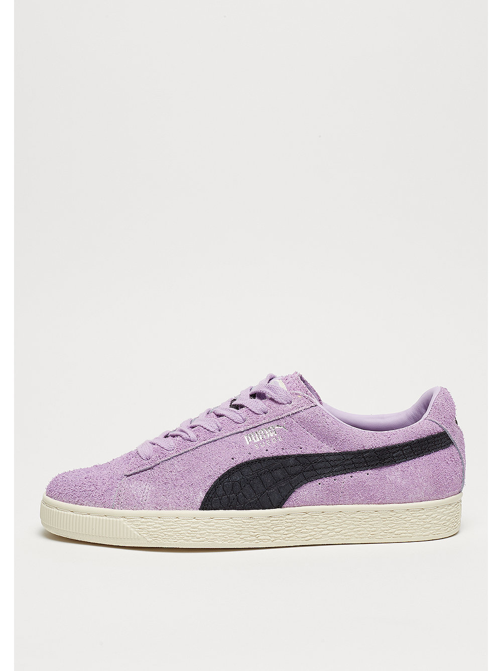 Puma Herren Suede x Diamond orchid bloom/puma black lila Neu