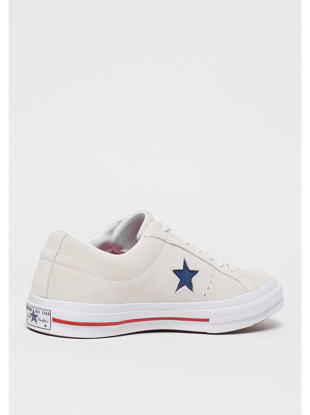 Converse One Star Ox Calzado gray/red/white