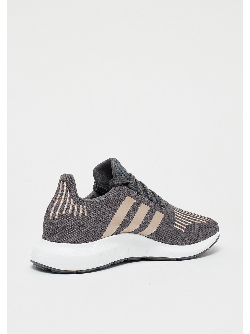 save off 4cf7e b4e15 adidas Originals Swift Run J Kinder-Sneaker Grey FiveCopper 39 13