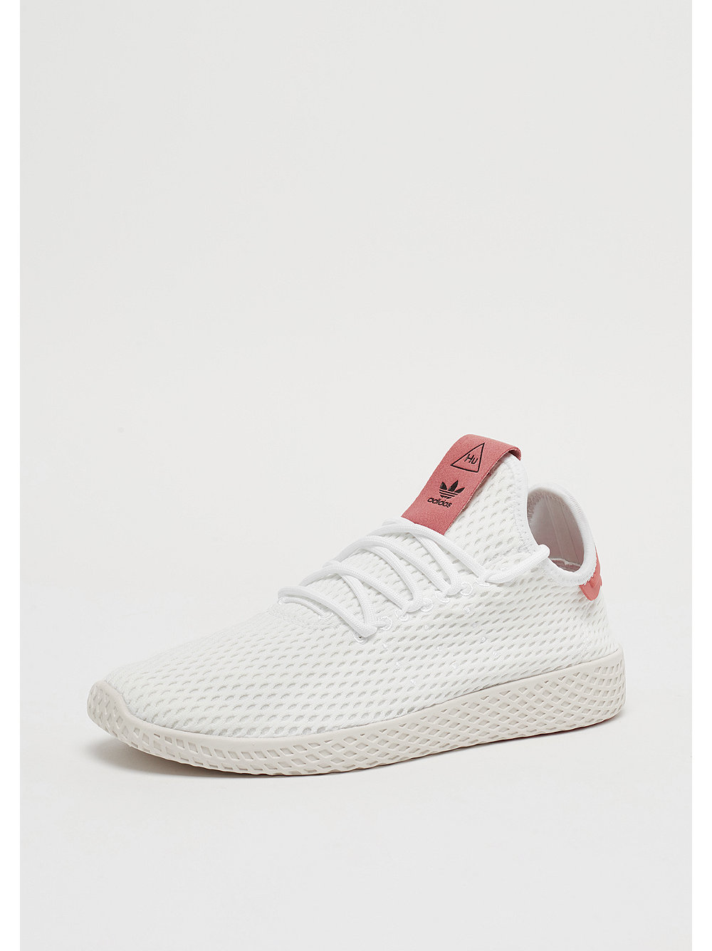 adidas pharrell williams tennis hu white red bei snipes. Black Bedroom Furniture Sets. Home Design Ideas
