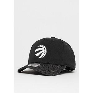 Damen,Herren Denim Visor NBA Toronto Raptors black/black schwarz | 05056161667328