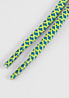 Schnürsenkel Rope Laces 120cm blue/yellow