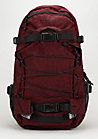 Rucksack New Laptop Louis flannel red