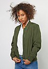 Übergangsjacke Light Bomber Jacket dark olive