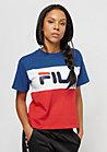 FILA Urban Line Tee WMN Allison Surf the web/bright white/hi