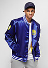 Tip Off Sateen Bomber Golden State Warriors majestic blue