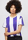 Retro Stripe purple/white