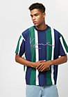 College Stripes blue/green/white