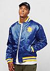 NBA Satin Golden State Warriors royal