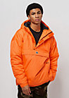 Hooded Halfzip orange