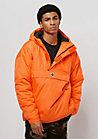 Hooded Halfzip orange