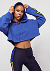 Fenty By Rihanna Hooded Cropped Dazzling Blue