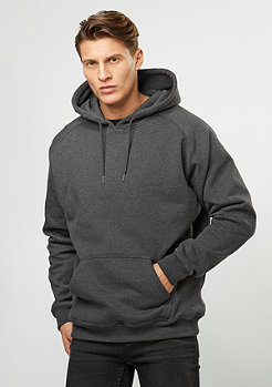 Urban Classics Hooded-Sweatshirt Blank charcoal
