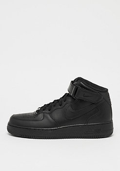 NIKE Basketballschuh Air Force 1 07 Mid black/black