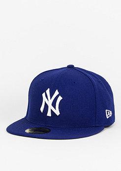 Fitted-Cap MLB Basic Yankees royal