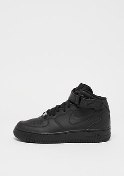 Basketballschuh Kids Air Force 1 MID (GS) blk/blk