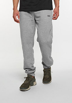 SNIPES Pantalon d'entraînement Logo heather grey