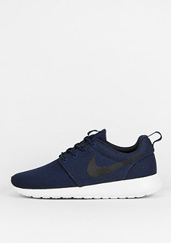 NIKE Roshe Run midnight navy/black/white