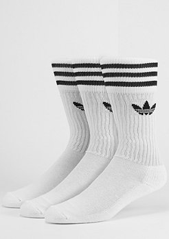 adidas Solid Crew white