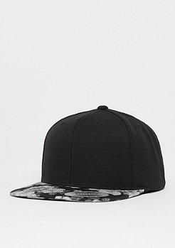 Flexfit Snapback-Cap Roses black/grey