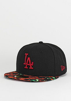 New Era 59Fifty Orchid Visor black/scarlet