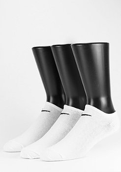 NIKE Value No Show 3Pack white/black