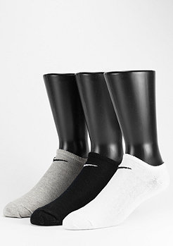 NIKE Sportsocke Value No Show 3Pack white/grey/black