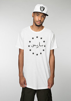 Mister Tee Paris Stars white