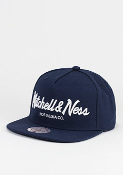 Mitchell & Ness Pinscript navy