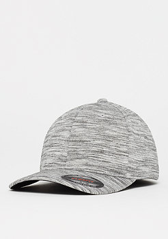 Flexfit Baseball-Cap Stripes Melange black/grey