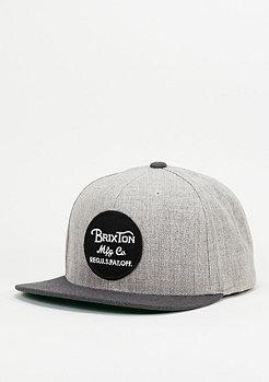 Brixton Wheeler light heather grey/charcoal