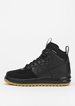 NIKE Lunar Force 1 Duckboot black/silver/gum light brown
