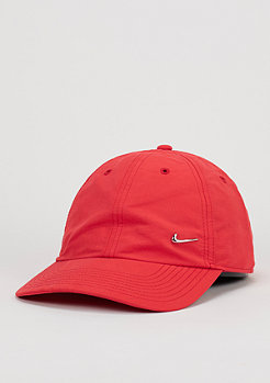 NIKE Metal Swoosh university red/metallic silver