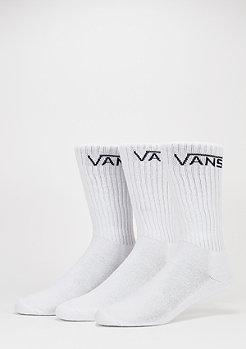VANS Sportsocke Classic Crew 3 Paar white