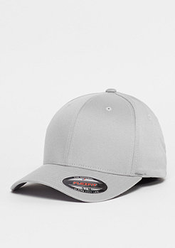 Flexfit Baseball-Cap Wooly Combed silver