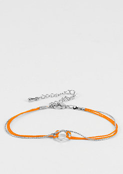 Masterdis SN0035 Bracelet silver/orange