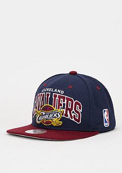 Snapback-Cap Team Arch NBA Cleveland Cavaliers navy