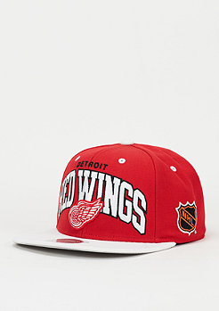 Mitchell & Ness Snapback-Cap Team Arch NHL Detroit Red Wings red