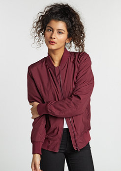 Jacke Light Bomber burgundy