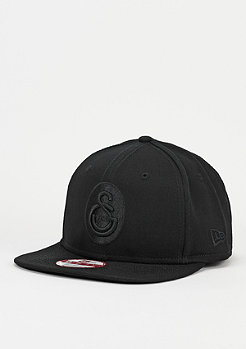 New Era Snapback-Cap Black On Black 950 Euroleague Galatasaray Liv Hospital