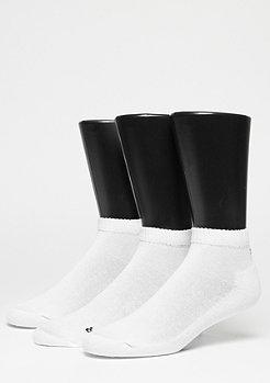 SNIPES Chaussettes de sport LoCut pack de 3 white