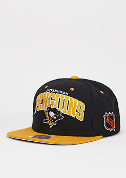 Mitchell & Ness Snapback-Cap Team Arch NHL Pittsburgh Penguins black