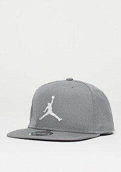 Snapback-Cap Jumpman cool grey/cool grey/white