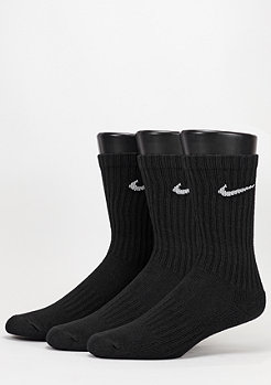NIKE Sport-Socke Value Cotton Crew 3Pack black/white