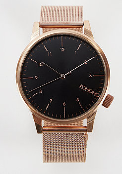 Komono Winston Royale rose gold/black