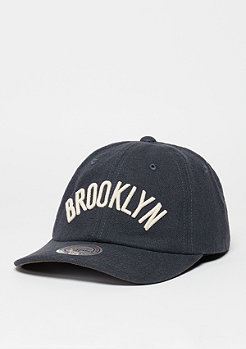 Mitchell & Ness Linen Slouch NBA Brooklyn Nets grey